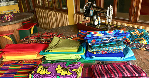 Fabrics in the Workshop